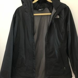 The North Face Jackets & Coats - North Face Women's Black Rain Jacket- Medium